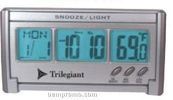 Jumbo Lcd El-backlit Travel Alarm Clock