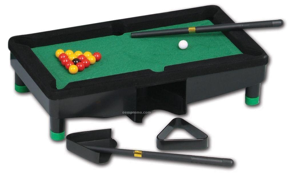 Mini Pool Desk Set Game
