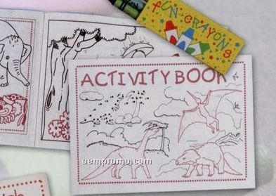 Stock 8 Page Coloring / Activity Book