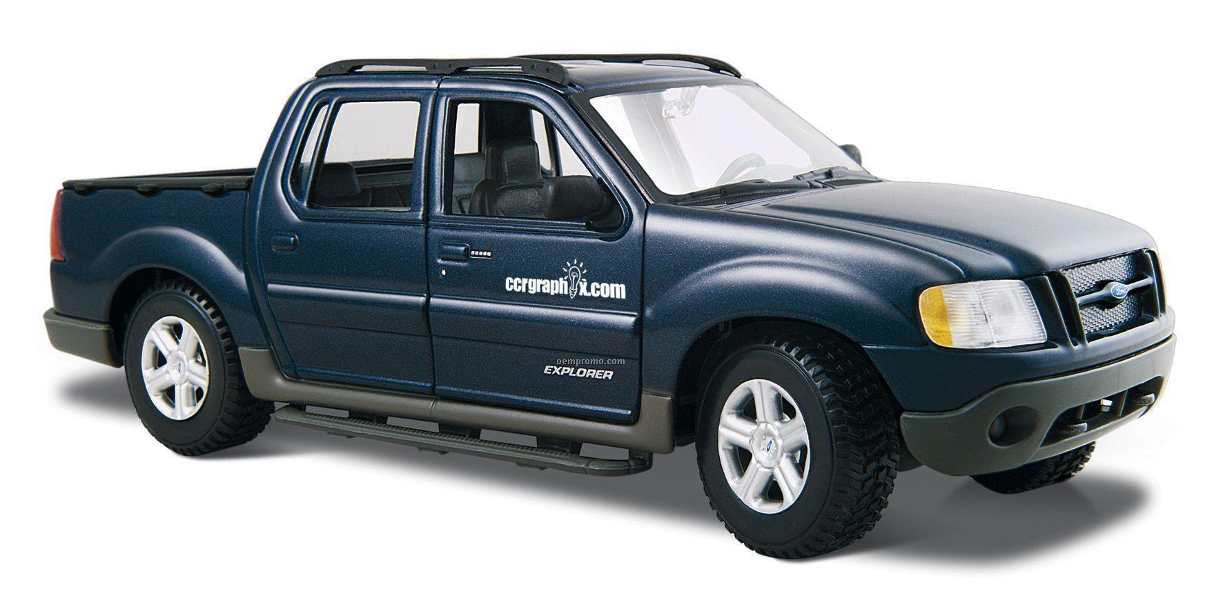"""7""""X2-1/2""""X3"""" Ford Explorer Sport Trac Die Cast Replica"""