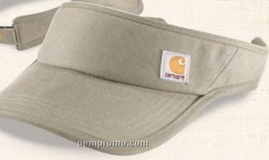Carhartt Twill Visor W  Coolmax Sweatband   Front Label 85453da6f4b