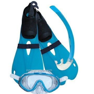 Kid Diving Sets (Mask,Snorkel,Fins)