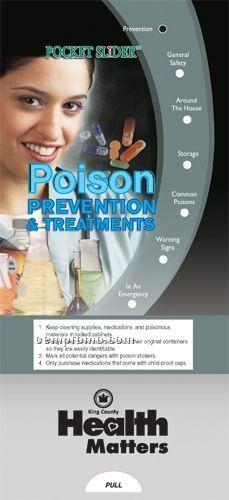 Poison Prevention & Treatment - Pocket Slider Chart/ Brochure