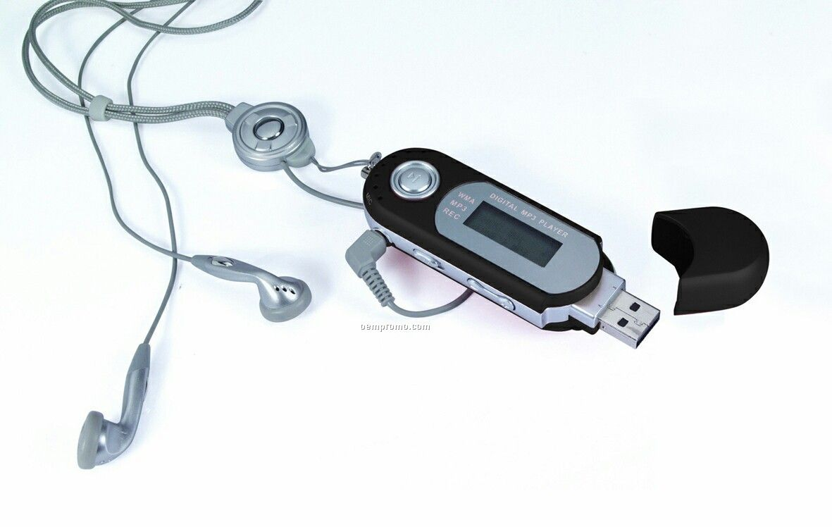 Slim Portable Mp3 Player With USB Drive (1 Gb)