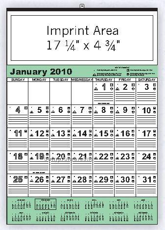 Company Color Bid Calendar (Order By 8/31)