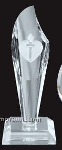 Optical Crystal Torch Award - Medium