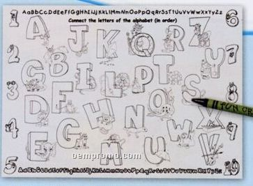 Alphabet Coloring / Activity Sheet