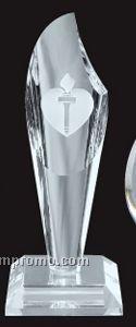 Optical Crystal Torch Award - Small