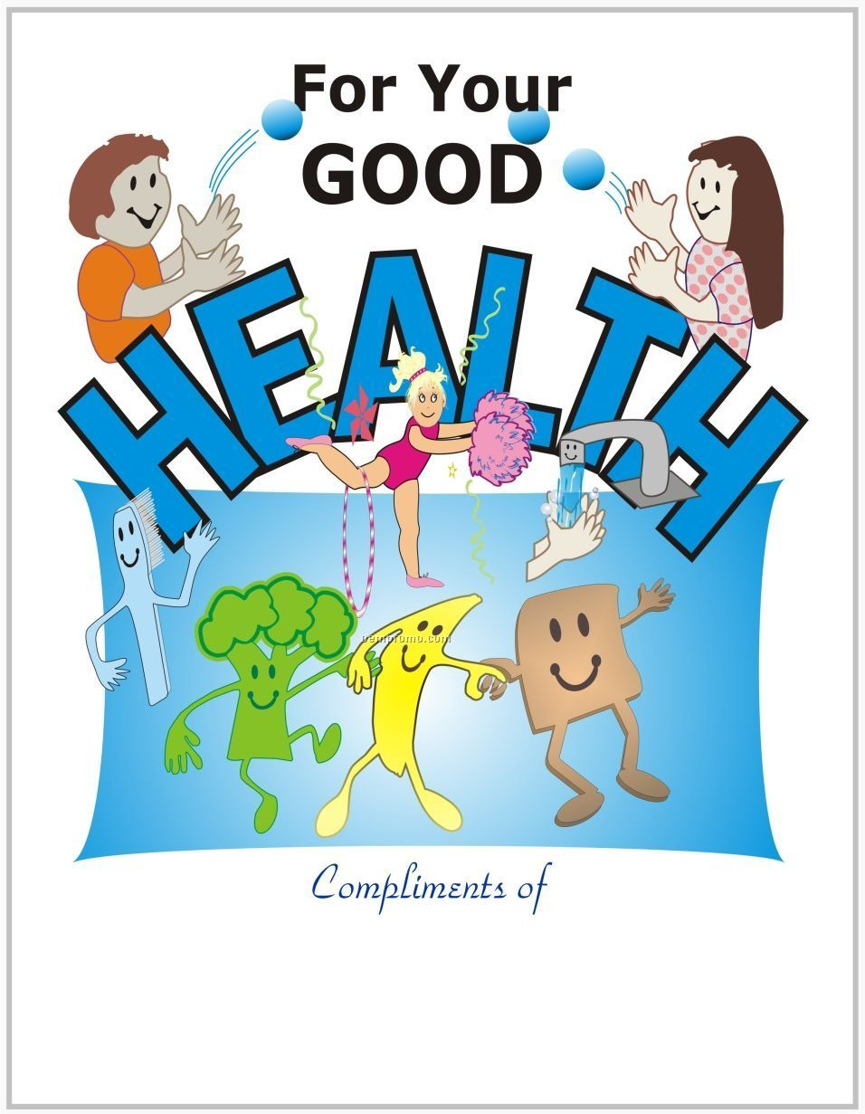 Good Health Coloring Book