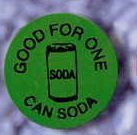 Round Stock Drink Token