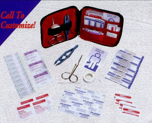 Zippered First Aid Kit - 43 Piece