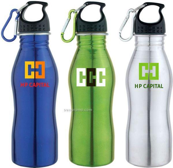 25 Oz. Stainless Steel Sport Water Bottle