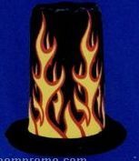 Flames Top Hat