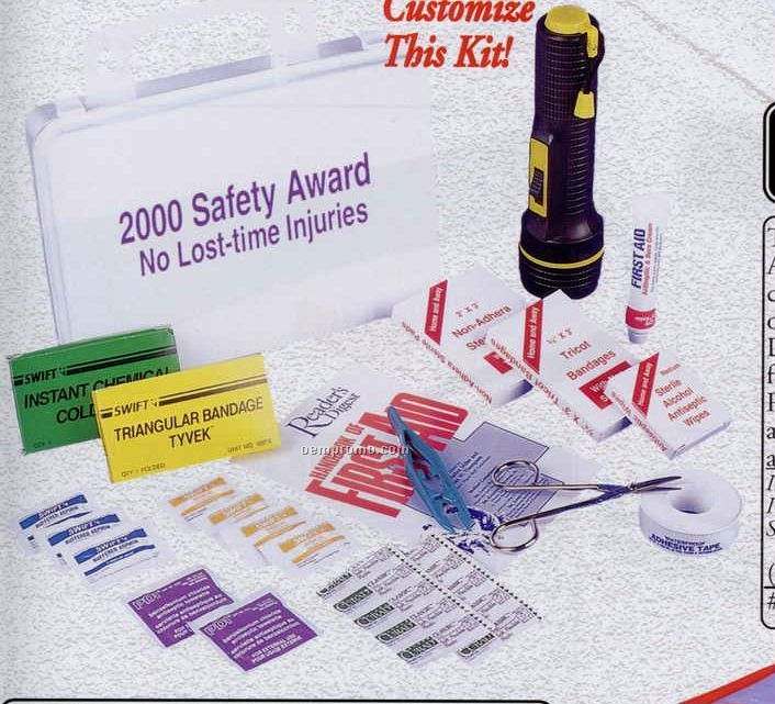 Water Resistant First Aid Kit - 77 Piece