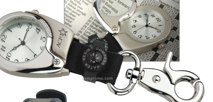 Hide-away Pocket Watch