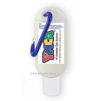 Sport Guard Spf 30 1.5 Oz. Carabiner Bottle With Carabiner