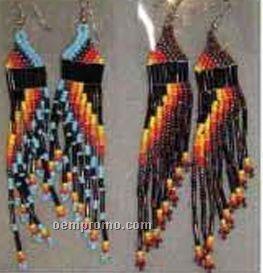 Sunset Bead Earrings W/ 2 Styles