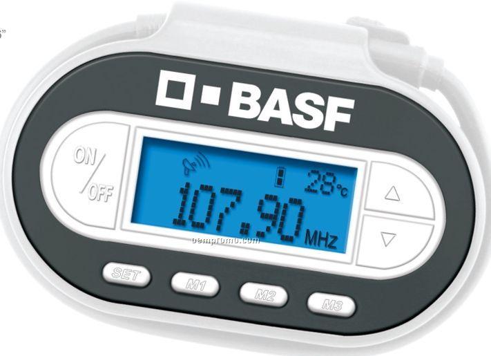 Wireless FM Radio Transmitter W/ Built-in LED Light