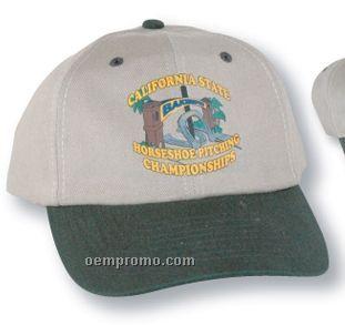 The Larkspur Cotton Cap (Suede Puff)