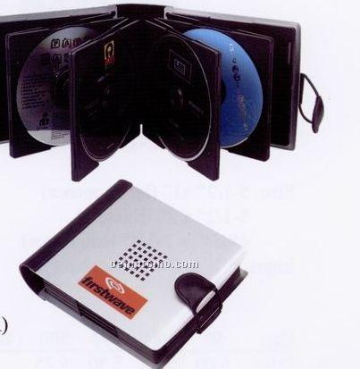 "Aluminum CD Holder (6 1/4""X5""X1 1/4"")"