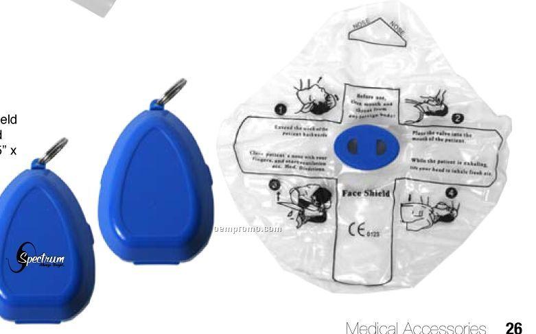 First Aid Mask W/Key Chain