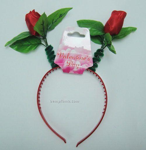 Party Headband - Rose