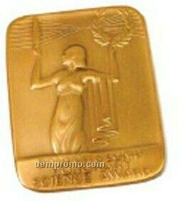 2.5 Mm 3-d Brass Coin