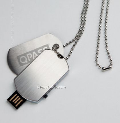Dog Tag Cob Slim USB Drive