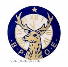 """Full Color Mylar Insert - 2"""" Elks (B.p.o.e.)"""