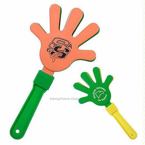 Assorted Neon Color Hand Clappers