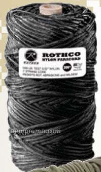 Black 550 Lb. Type III Commercial Paracord