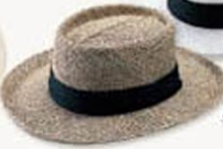 Gambler Straw Hat W/ UV Protection