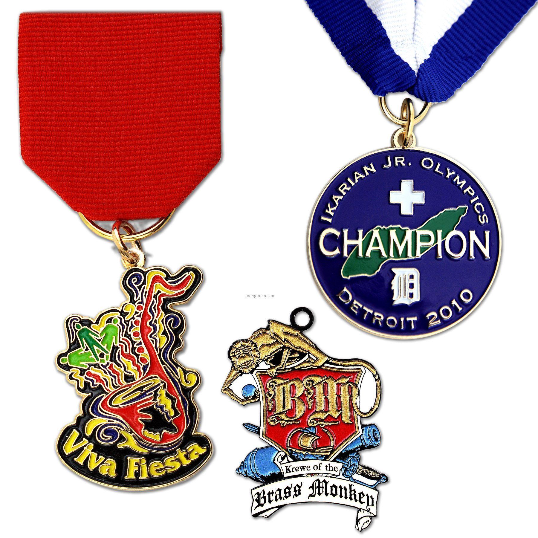 "Die Struck Iron Economy Medal (1-3/4"")"