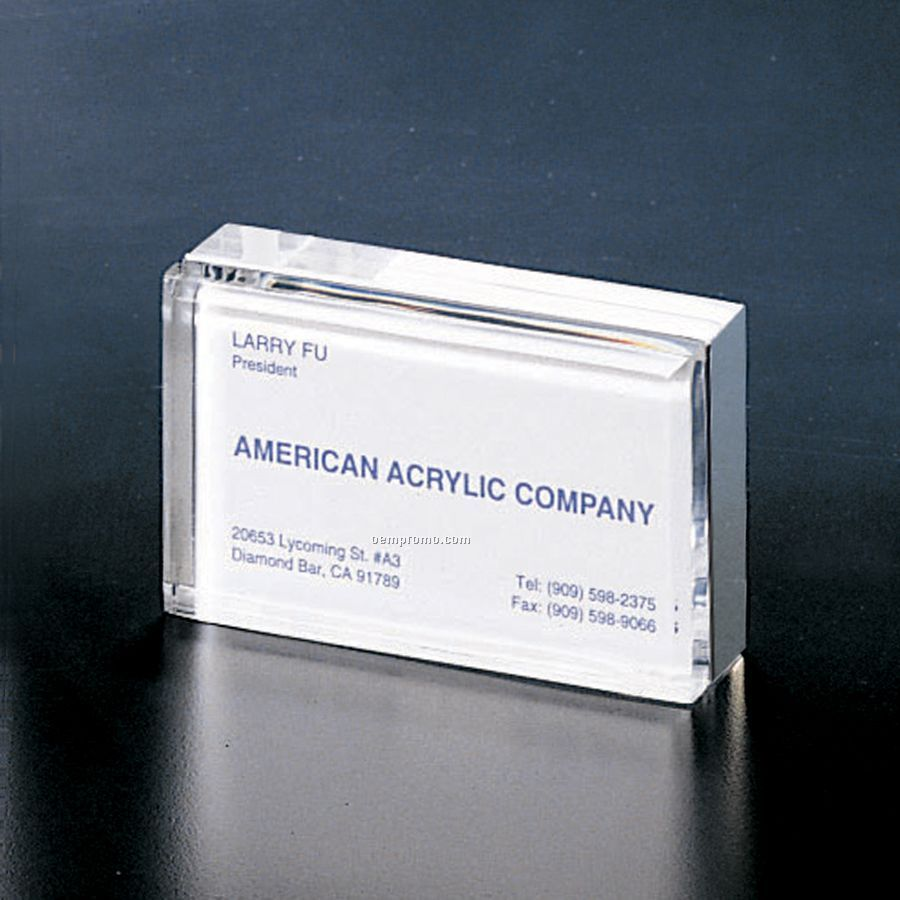 Acrylic business card holder 2x3 12x1china wholesale acrylic business card holder magicingreecefo Images
