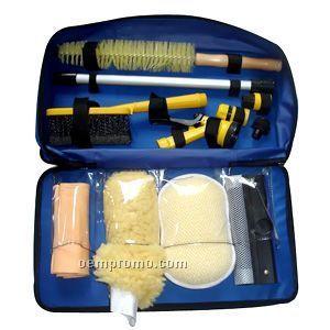 Car Wash Kits W/Blue Case