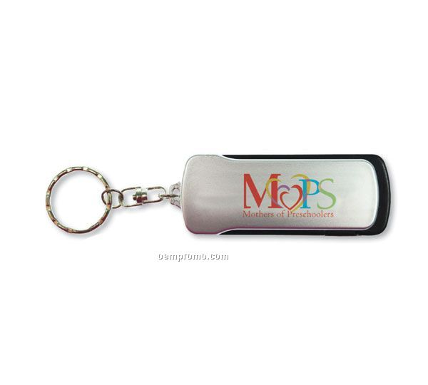 Flip Out Tool Key Light Keychain (Digital Color Printing)