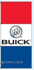 Stock Single Face Dealer Rotator Drape Flags - Buick