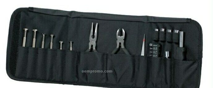The Travel Pack Velcro Case Tool Kit