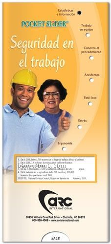 Workplace Safety Pocket Slider Chart/ Brochure