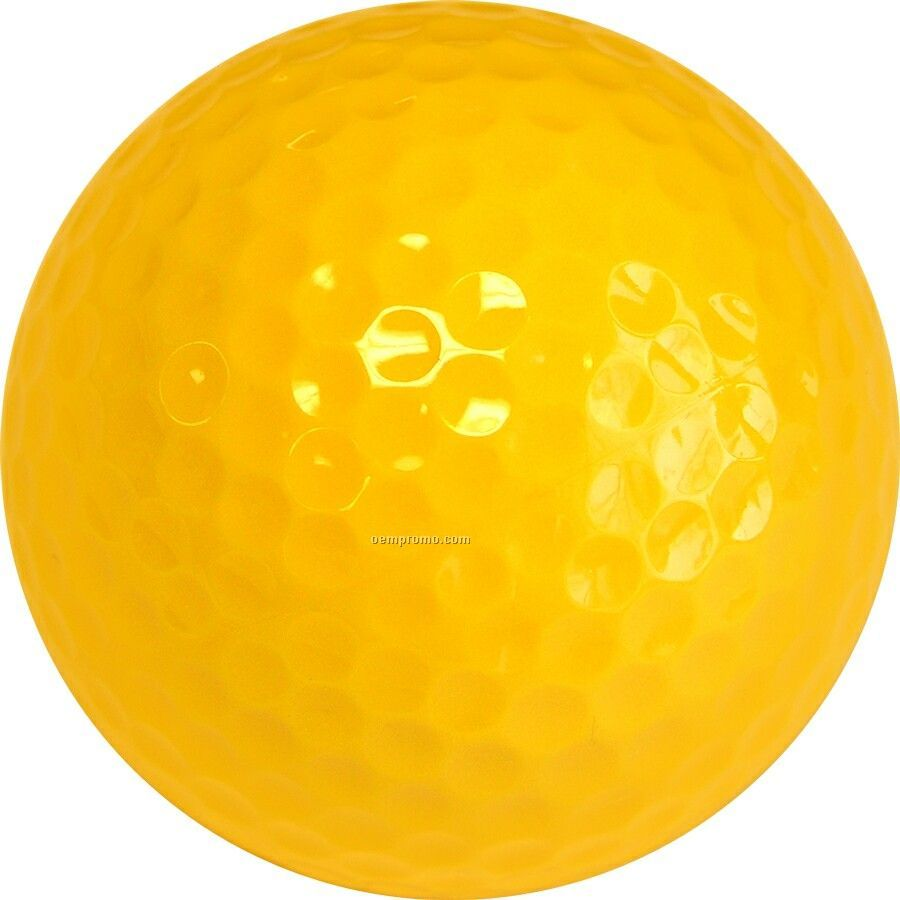 Yellow Golf Balls ( 3 Color/Clear 3 Ball Sleeves)
