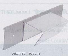 2 Pack Clear Plastic Hanger For Wall Mount Holder