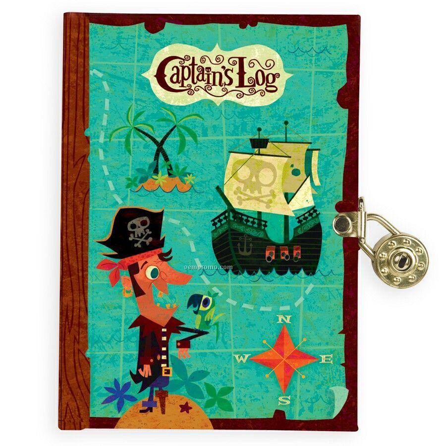 Captain's Log Locked Diary