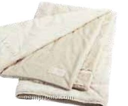 Champagne Thank You Velvafur Throw Blanket
