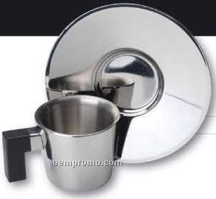 Cubo Espresso Cup & Saucer (1.7 Oz.)