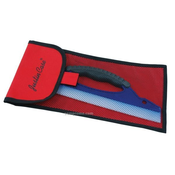 "12"" Silicone Squeegee W/ Mesh Bag"