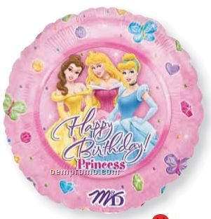 "32"" Disney Princesses Happy Birthday Balloon"