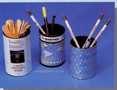 "4""'x3"" Pen/Pencil Caddies (1 - 2 Color)"