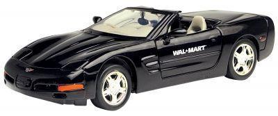 "7""X2-1/2""X3"" Chevrolet 1998 Corvette Convertible Diecast 1:24 Scale"