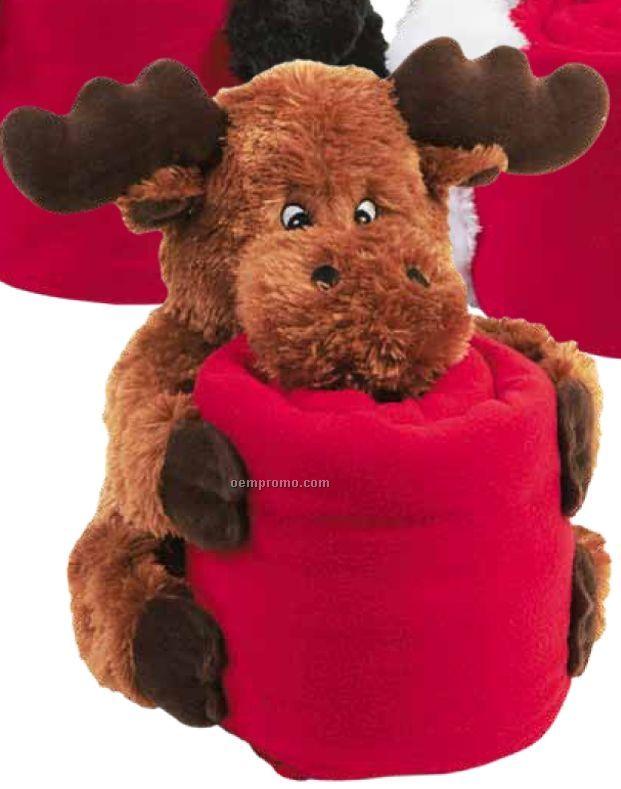 Moose Kritters Huggable Blanket