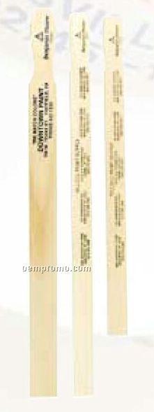 "Standard 5 Gallon Paint Paddle (21"" X 1-1/2"" X 1/4"")"
